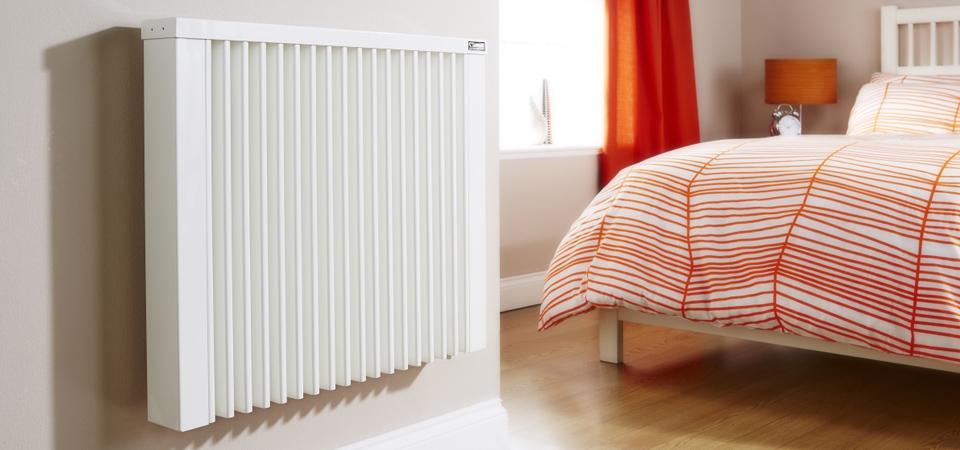 radiátor v pokoji